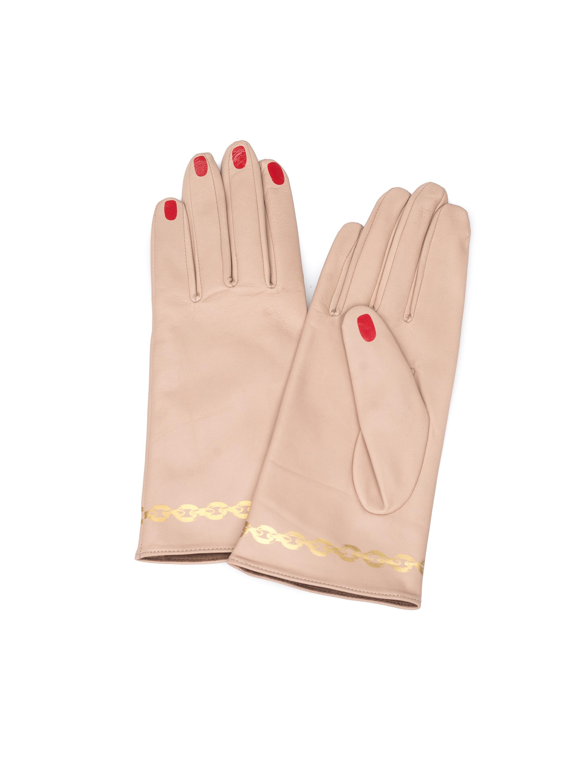 UNDERCOVER | Кожаные перчатки | Clouty